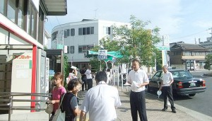 TPP駅頭行動 松阪