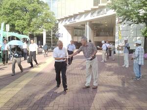 TPP駅頭行動 四日市