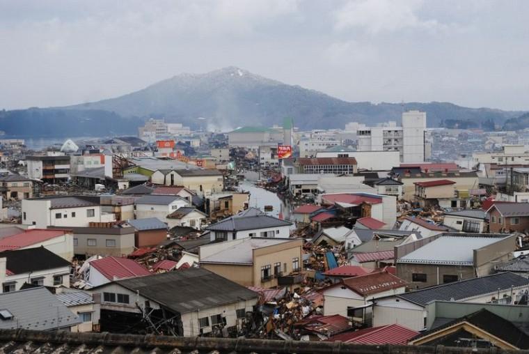 2011.03.16 気仙沼 幸町方面